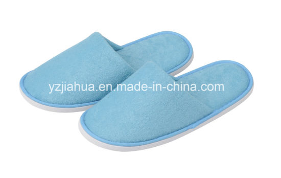 Colorful Five Star Hotel Terry EVA Whashable Slipper
