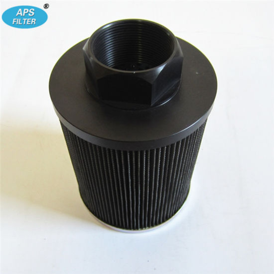 Pleated Micro Fiber Glass Hydraulic Filter Element (PI171081DRG60) with Thread Connection pictures & photos