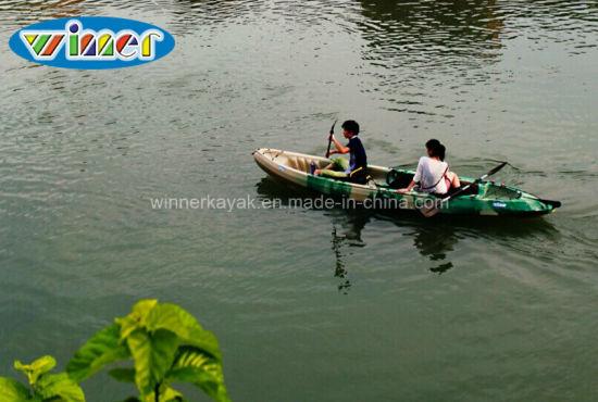 Sit on Top Plastic Fishing Large Family Kayak