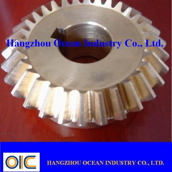Alloy Steel Bevel Pinion Gear pictures & photos