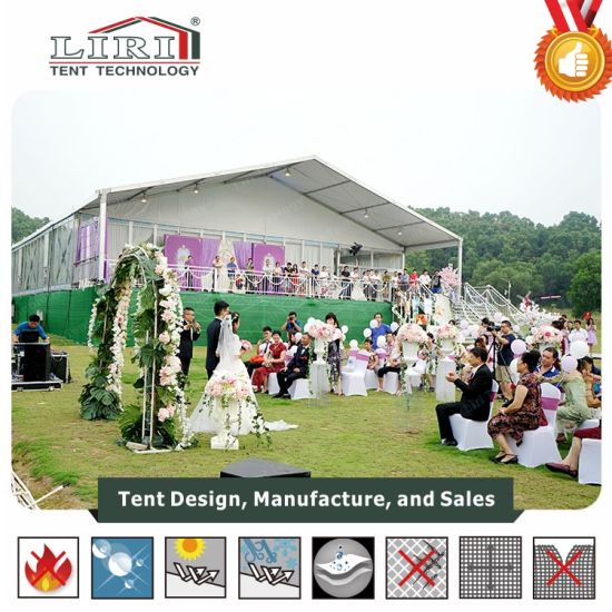 15m Clear Span Aluminum Big Tent Used as Temporary Office pictures & photos