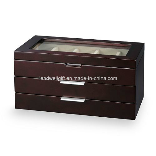 Wooden Watch Box Display Case Collection Jewelry Box Storage pictures & photos