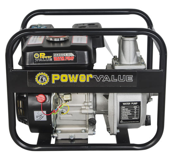 Power Value New Design 2 Inch Gasoline Water Pump for Sale pictures & photos