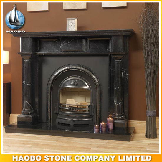 antique stone fireplace mantels. Marble Black Marquina Antique Design Fireplace Surround Nero Marguia  Mantel China