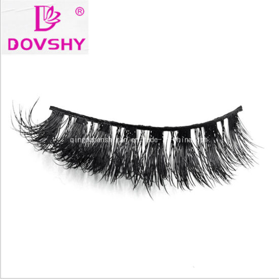 1c4125f1828 Real Siberian 3D Volume Human Hair Mink Lashes 3D Lashes with Diamond Box