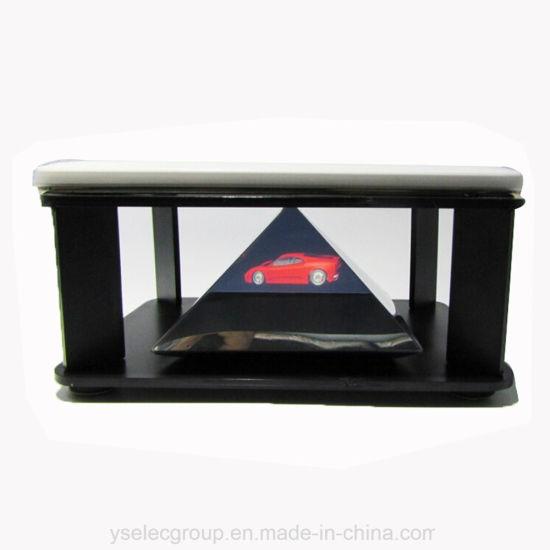 Yashi 360 Degree Holographic Pyramid Projection Display 3d