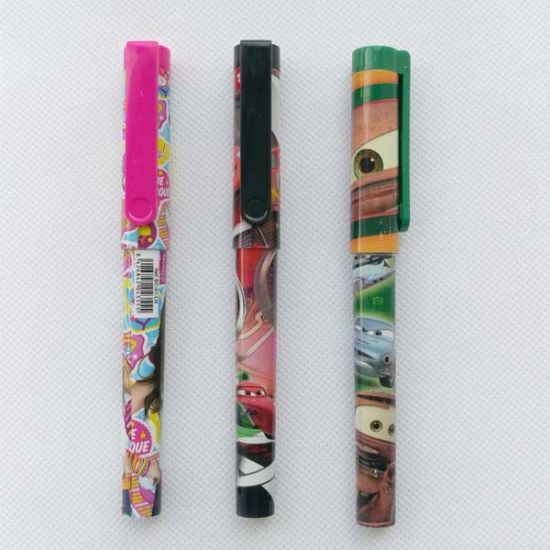 Classic Promotion Plastic Ball Pen with Lanyard