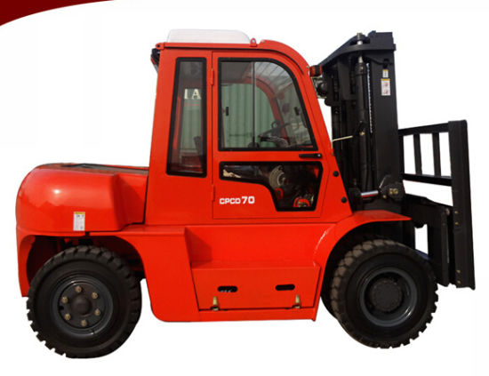 7 Tons Hydraulic Diesel Forklift pictures & photos