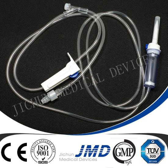 Medical Supply Disposable IV Transfusion Infusion Set with Luer Lock pictures & photos