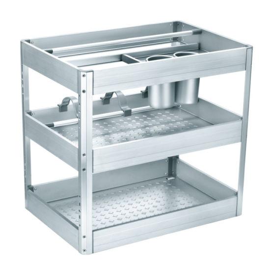 Kitchen Cabinet Accessories Mutifuntional Bakset (DL400A)