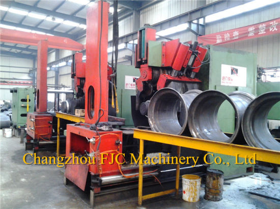 "Agricultural Tubeless Wheels Rollforming Machine for 17.5""-24.5"" Wheel Rim pictures & photos"