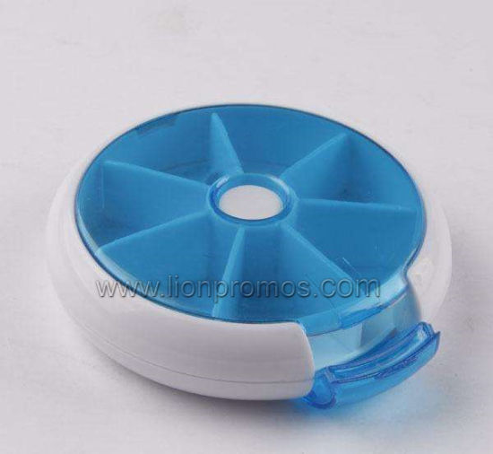 Cheap OEM Medicine Promotion Gift 7days Pillbox pictures & photos