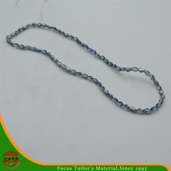 Hans Fast Delivery 3*5mm Crystal Bead, Button Pearl Glass Beads Accessories