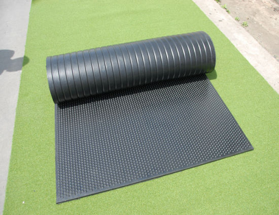 China 2m Width Horse Stall Mats Eco Friendly Durable Cow Rubber