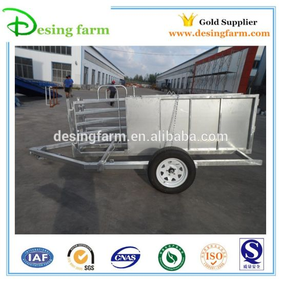 Cattle Panel Yard Trailer System for Sale pictures & photos