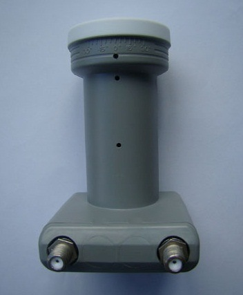 Universal Twin Ku-Band LNB/LNBF with CE Certification pictures & photos