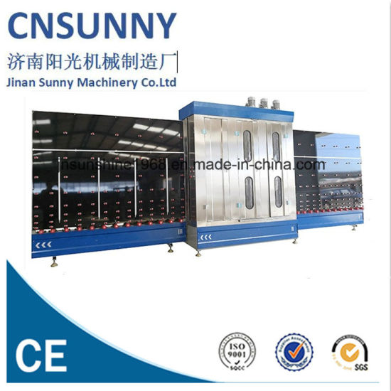 Automatic Low E Vertical Flat Glass Glazing Washing and Dry Machine/Glass Washer and Dryer Machine