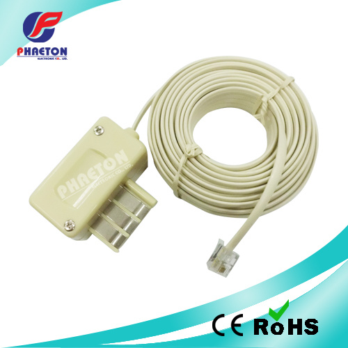 Swell China French Jack To American Plug Telephone Extension Wire Ph2338 Wiring Digital Resources Instshebarightsorg
