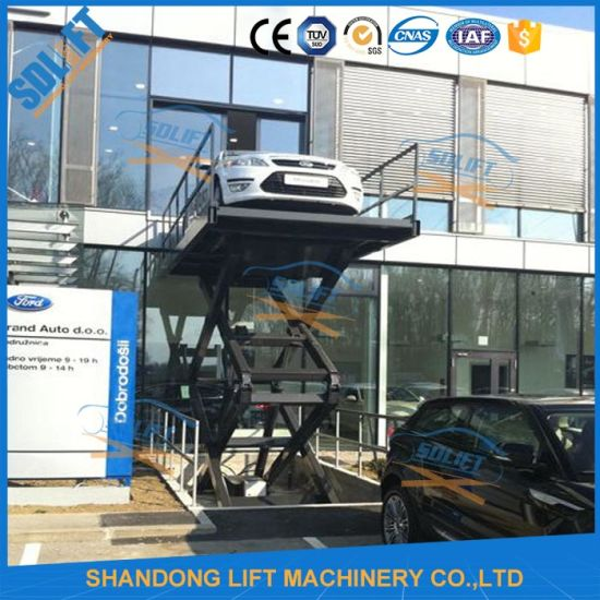 Used Car Warehouse: China Warehouse Lift Used Vertical Car Elevator