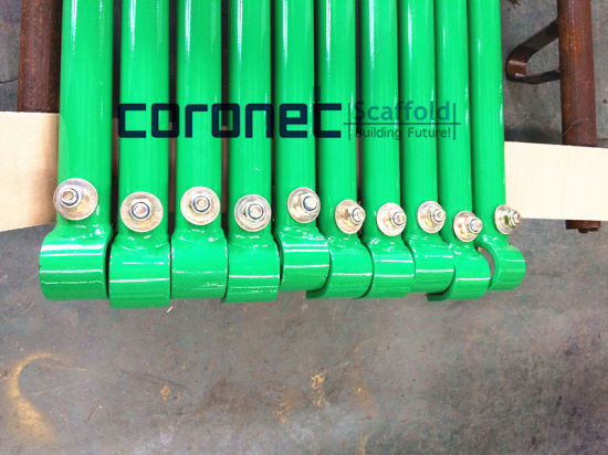 ANSI Certified Powder Coated Horizontal Goosers for Frame Scaffold (CSHG) pictures & photos
