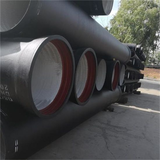 Water Pressure Test Ductile Iron Pipes