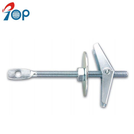 Eye Hole Hex Nut Washer Steel Toggle Wing Bolt