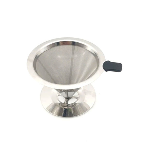 China Hot Selling Stainless Steel Coffee Filter China Vietnam Coffee Filter Glass Coffee Filter Holder