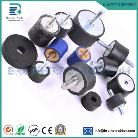 OEM Silicone NBR Nr EPDM SBR Rubber Molding Bonded to Metal Product and Moulding Rubber Parts for Auto and Industrial