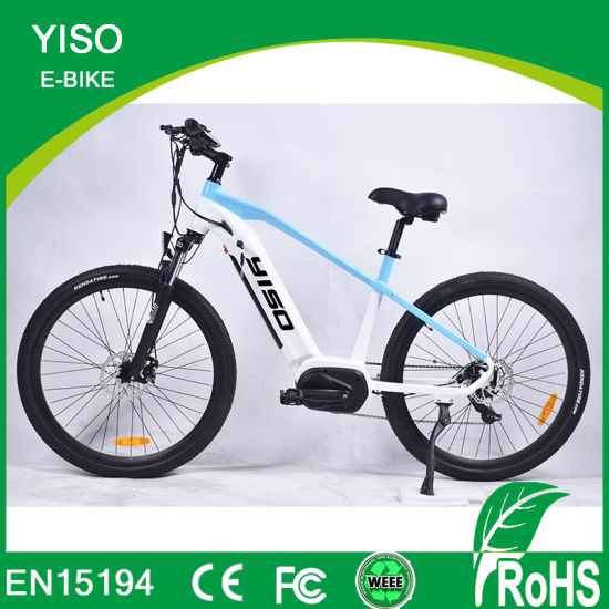 1100W 1000W Factory Hot Sale Hidden Battery Crank Motor Electric Bike