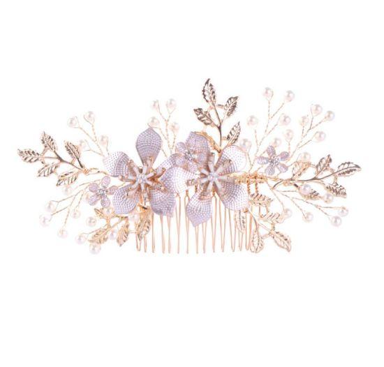 Elegant Flower Headdress Hair Clip Elegant Jewelry Ornament