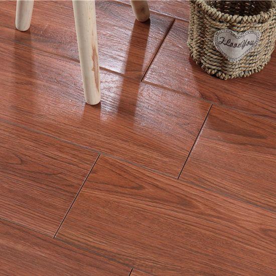 Poland Nature Style Anti-Skidding Wood Grain Ceramic Tile Planks