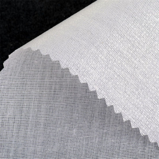 Wholesale Apparel Accessory Woven Fabric Shirt Collar Interlining