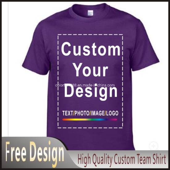 Wholesale Custom Men Cheap Cotton Advertising Promotional Customized Design Shirts for Men Logo Printing T Shirt