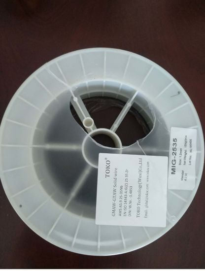 Aws A5.9 25-35 Nb Gmaw-Gtaw Solid Welding Wires pictures & photos