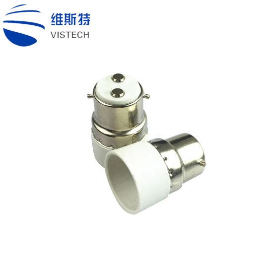 B22 To E14 Base Socket Light Bulb Lamp Holder Adapter Plug Converter