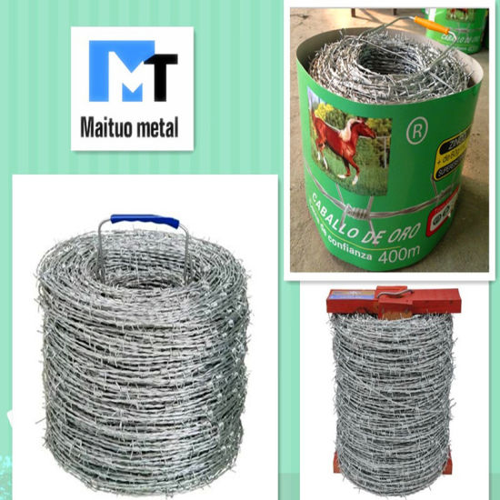 Maituo Barbed Wire Brand Grassland Fence pictures & photos