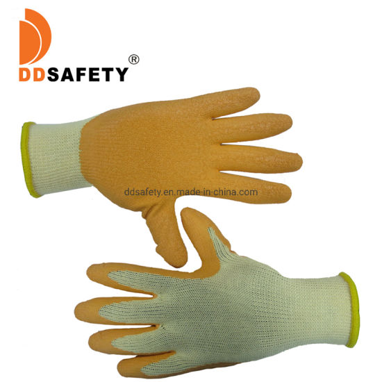 Latex Dipped Protective Cotton Gloves Ce 3232