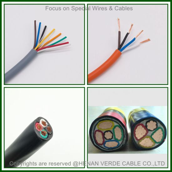 Factory Customized Copper Conductor PVC Rubber Insulated Wire Welding Electrical Cables Shield Control Electric Power Cable