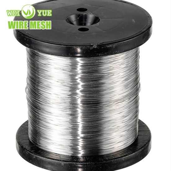 Ultra Thin 316L 0.05 mm Bright Annealed Stainless Steel Weaving Wires/Sewing Thread Used for Cut Resistant Gloves