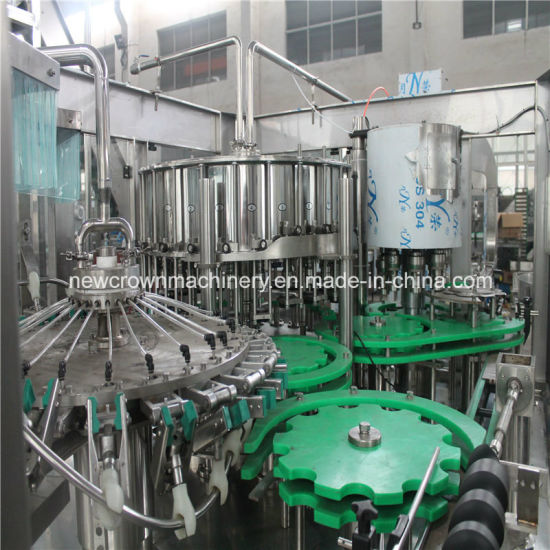 Factory Price 500ml Automatic Juice Filling Machine Bottled Monoblock 3-in-1 Glass Bottle Juice Filling Machine pictures & photos