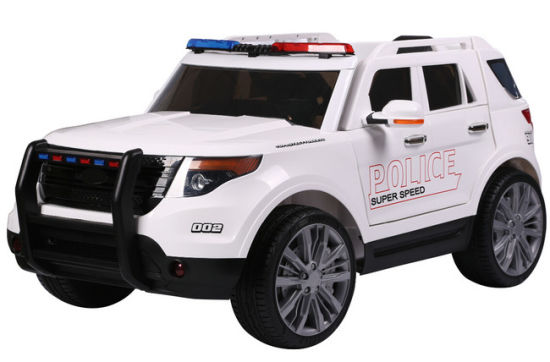China Hot Selling 12 Volt Kids Ride On Police Car Toy