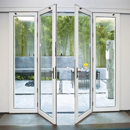 China Australia Standard Aluminum Frame Swing Door Exterior French