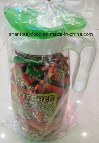 Pitcher Bubble Gum with Tattoos 200PCS pictures & photos