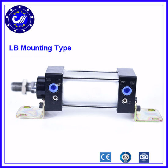 Sc Series Bore 50mm Stroke Double Acting Pneumatic Air Cylinder