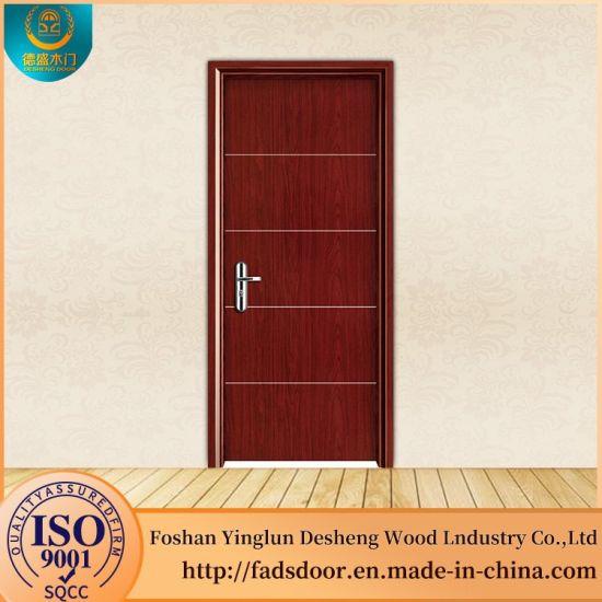 China Desheng Malaysia Glass Insert Wood Interior Door Panel Inserts