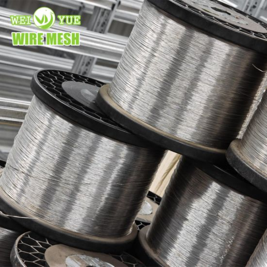Stainless Steel Wire 0.035 Micron for Warp  Knitting  Fabric