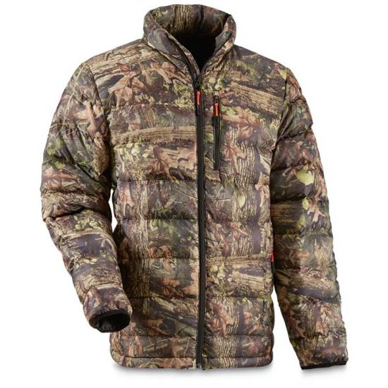 Custom Camouflage Hunting Jacket Puffer with High Quality