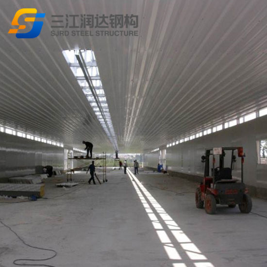 Insulation Steel Structure Temporary Building Cheap Chicken Buildings of a Chicken House