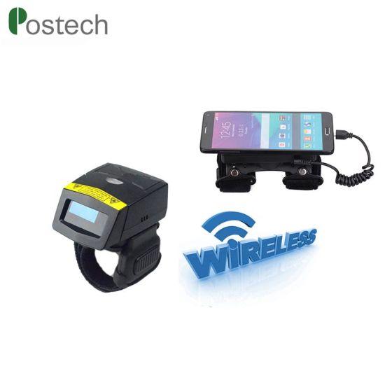 China Fs01+Wt02 1d Laser Finger Ring Barcode Scanner Mobile