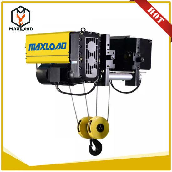 5 Ton European Design Wire Rope Electric Lifting Overhead Crane Hoist  (MLER05-06)